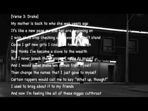 Drake - Club Paradise (Lyrics On Screen)