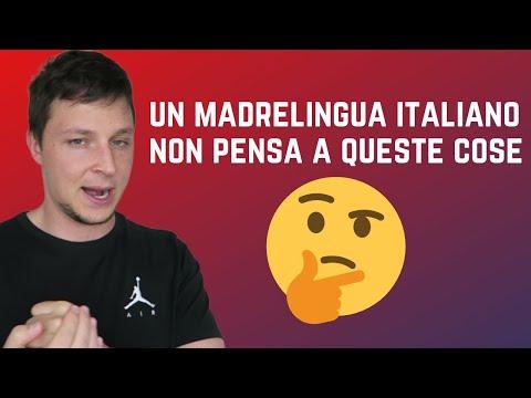 Un americano descrive le peculiarità della lingua italiana