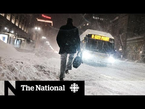 Massive storm brings dangerous winter to Canada, U.S.