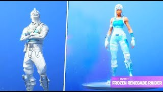SKIN RENEGADA ACONGELATED ET BLACK KNIGHT CONGELATED IN FORTNITE?