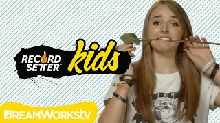 1,000 Pirates in One Room! Jennxpenn Team World Records | RECORDSETTER KIDS Ep. 11