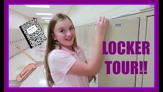 school locker decor