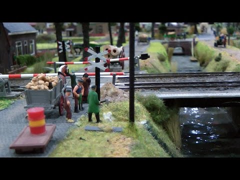 Beautiful Model Train Layout in HO Scale from the Netherlands