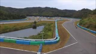 8/28マイバイク走行会IN幸田サーキットyrp桐山