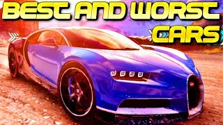 BEST and WORST cars in each class in Asphalt 9!