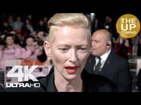 Tilda Swinton On Suspiria, Thom Yorke, Guadagnino And Female Roles At London Film Festival Premiere
