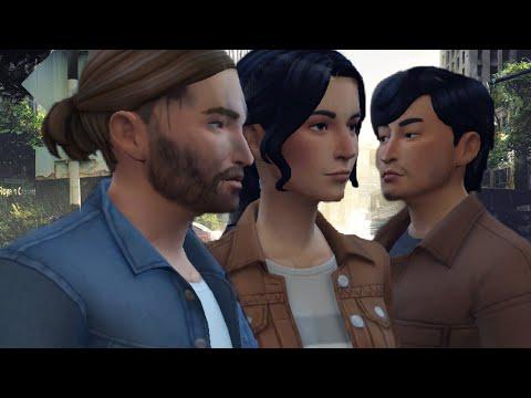 On créer DINA, JESSE et TOMMY de THE LAST OF US 02 dans LES SIMS 4! // CAS