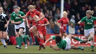 Highlights: Wales Women v Ireland Women | 2015 Six Nations | WRU TV