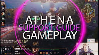 SMITE GUIDE THE COMPLETE ATHENA SUPPORT