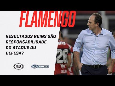 FLAMENGO: RESULTADOS RUINS SÃO RESPONSABILIDADE DO ATAQUE OU DEFESA? | FOX Sports Rádio