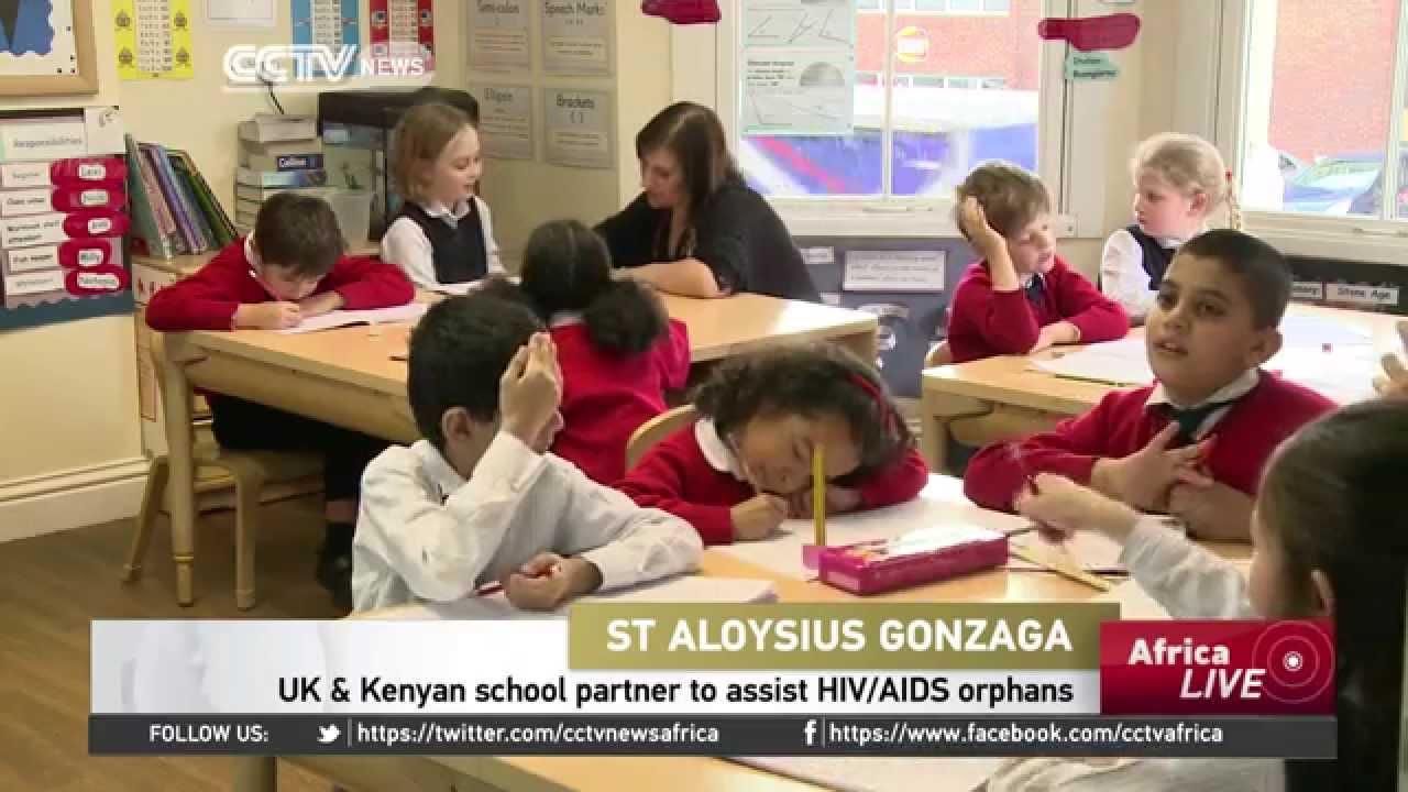 Uk Kenyan School Partner To Provide Education For Hiv Aids Orphans