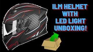 ILM Helmet With Led Light Unboxing