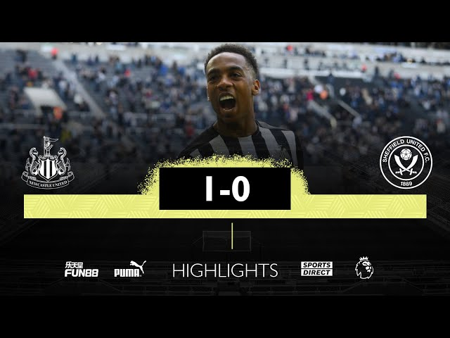 Newcastle United 1 Sheffield United 0 | Premier League Highlights
