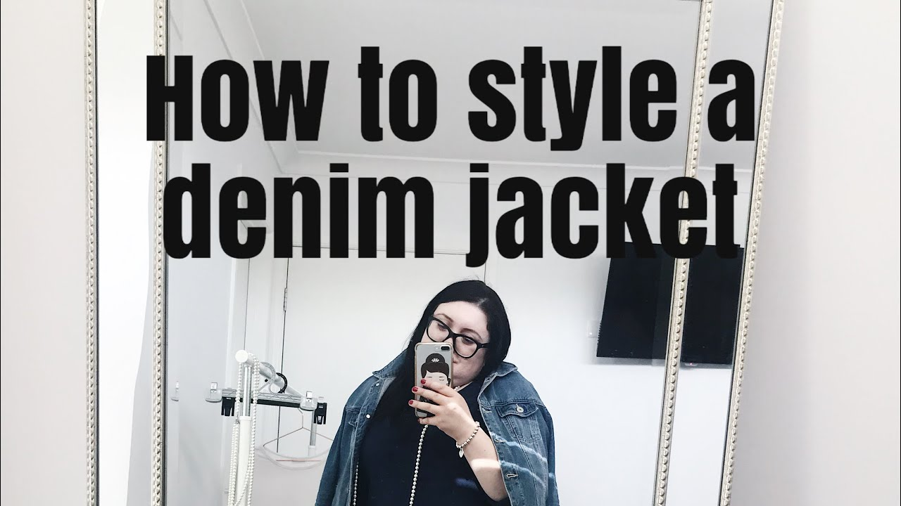 How to style a Denim jacket. #kmartaus #denimjacket | Elegance Of She