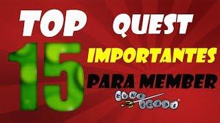 Las QUEST MEMBERS mas IMPORTANTES y ESENCIALES en todo RUNESCAPE OLDSCHOOL // LuisPipe