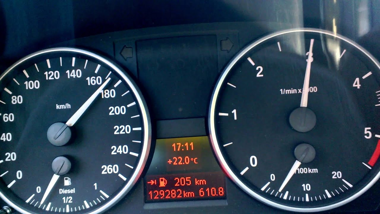 BMW E91 320d 163PS M47TU2 acceleration