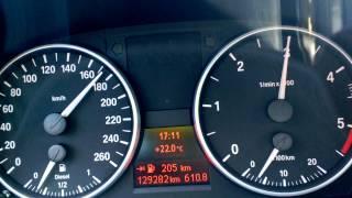 BMW E91 320d 163PS M47TU2 acceleration