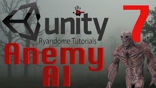 منظمة العفو الدولية العدو. كيفية جعل لعبة الرعب 7 الوحدة 3D.