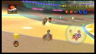 Mario Kart Wii - Chain Chomp Wheel - Coin Runners