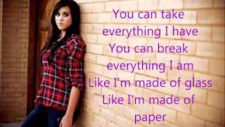 Repeat youtube video Demi Lovato - Skyscraper (Boyce Avenue & Megan Nicole Acoustic Lyrics Cover)