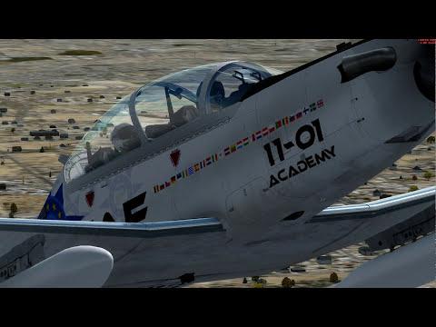 V-EAF MILITARY TRAINING FLIGHT - PGM: #T201