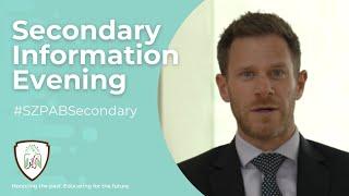 Secondary Information Evening