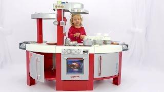 Детская кухня Klein Miele Распаковка кухни Игрушки звук гриль барбекю посуда Kid's Kitchen(, 2016-12-03T13:40:06.000Z)
