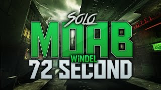 COD: MW3- Fast SOLO 72 Second MOAB On Bootleg! | Very Fast MW3 MOAB! (Ass Vs. Tits?)