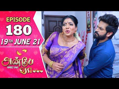 Anbe Vaa Serial | Episode 180 | 19th June 2021 | Virat | Delna Davis | Saregama TV Shows Tamil