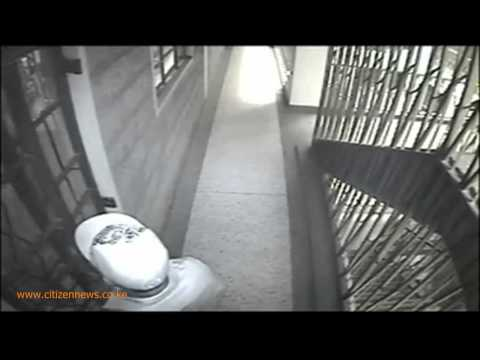 Apartment Burglar Caught On Camera