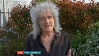 Brian May ITV News London on Basements 12052016