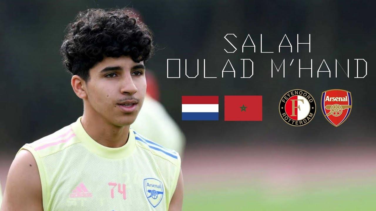 AmazingTalent! Salah Oulad M'Hand 17yo!@FeyenoordU19 midfield brains, control, passes