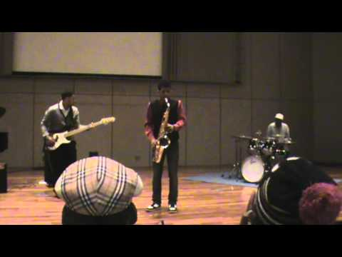 MAPUTO, Joash David Soobramoney Tenor Sax, Grant Bass ,Thobo drums