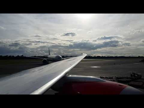 Llegando a posición Boeing 777 Etihadcargo Bogotá Colombia