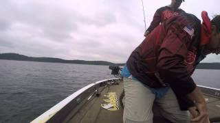 Fishing Bull Shoals Lake with David Walker and Wade Middleton