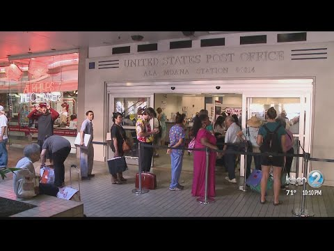 Holiday Hours For Hawaii Post Offices