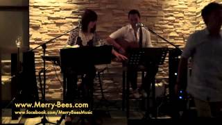 "Merry Bees Live Music - Nelson sings ""Bleeding Love"""