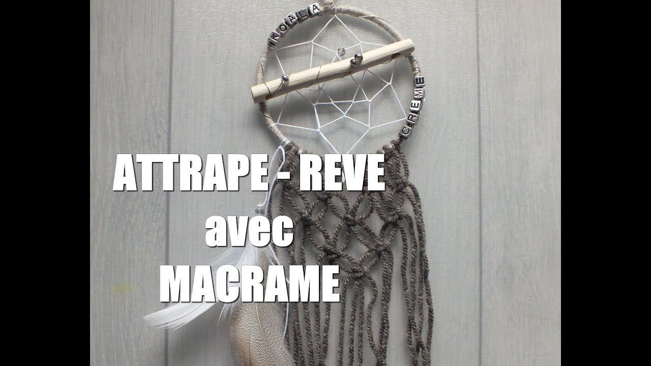 Diy Attrape Reve 1 Macrame Youtube