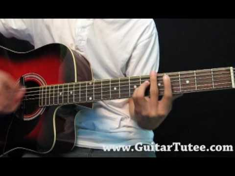 Justin Bieber One Less Lonely Girl By Guitartutee Youtube