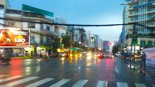 Asian Travel - Phnom Penh Streets In The Evening Of A Rainy Day - Youtube