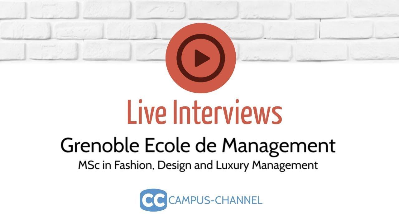 Msc Fashion Design And Luxury Management Grenoble France 2020 2021