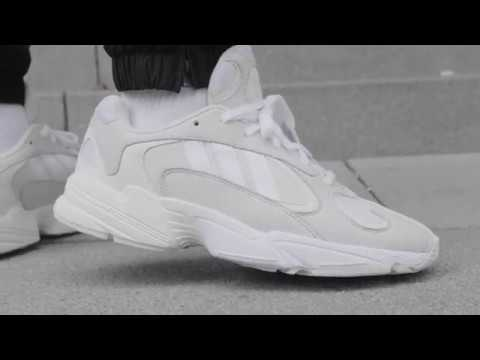 ADIDAS YUNG-1 (CLOUD WHITE   CLOUD WHITE   FTWR WHITE) B37616 - YouTube e6e1a9ffab0