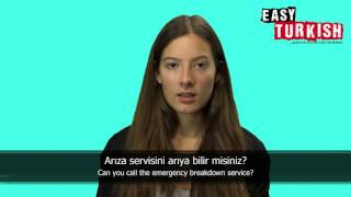 10 Turkish phrases for an emergency - Easy Turkish Basic Phrases (5)