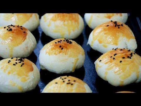 蛋黃酥的秘製新吃法,手把手教你,配方和步驟詳細,酥香掉渣,看完你也會做【夏媽廚房】