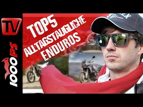 Top 5 -  Alltagstaugliche Enduros fürs Gelände und die Stadt - Gebrauchmotorrad Beratung