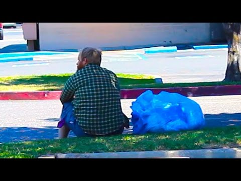 Homeless Man Does A Shocking Act Social Experiment