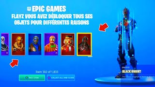 TUTO FOR DÉBLOQUER ALL THE SKIN OF FORTNITE GAME (PS4/XBOX/SWITCH/MOBILE)