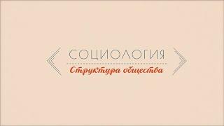 Лекция 1.3 | Структура общества | Марина Арканникова | Лекториум