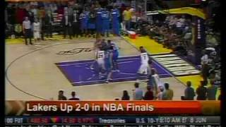 Lakers Up 2-0 In NBA Finals - Bloomberg
