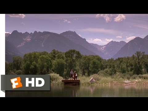 A River Runs Through It 18 Movie CLIP  Learning to Fish and Write 1992 HD